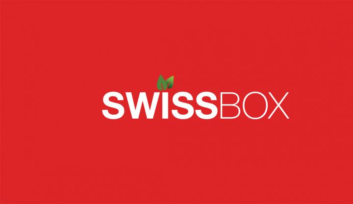 Logo Swissbox créé par Camden